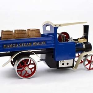 Blue Steam Wagon