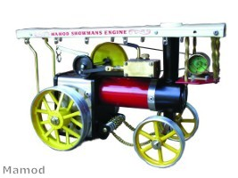Mamod Challenge steam roller ideal gift for history fanatics