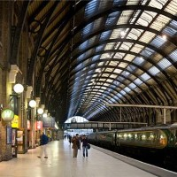 British railway stations bring together past and future