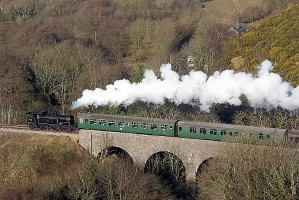 Hot weather stops Weymouth steam train in its track