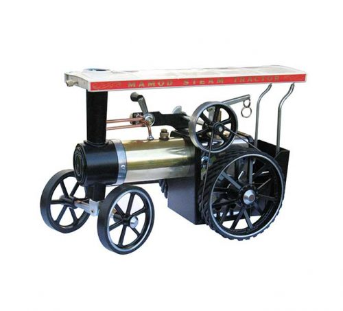 Brass-traction-engine-with-rubber-tires - Mamod