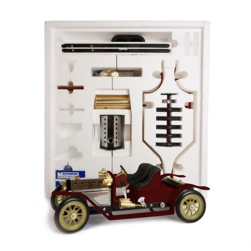 Mamod Live Steam Engines - Mamod Steam Roadster Kit Burgundy