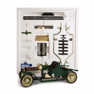 Mamod Live Steam Engines - Mamod Steam Roadster Kit Racing Green