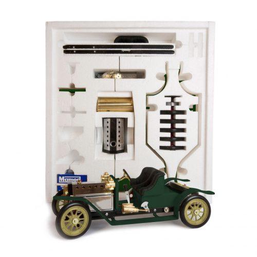 Mamod Live Steam Engines - Mamod Steam Roadster Kit Racing Green