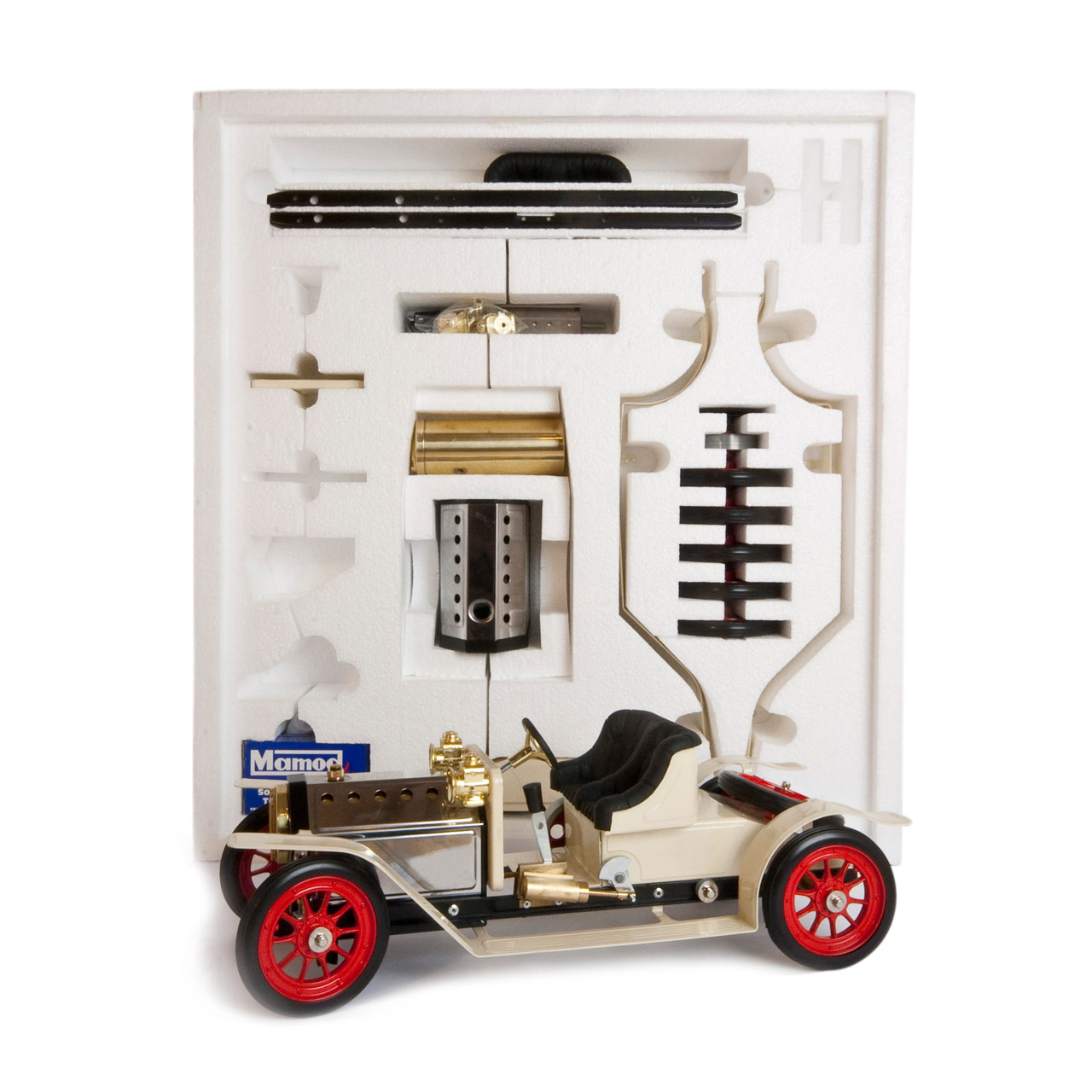 Mamod Live Steam Engines - Mamod Steam Roadster Kit