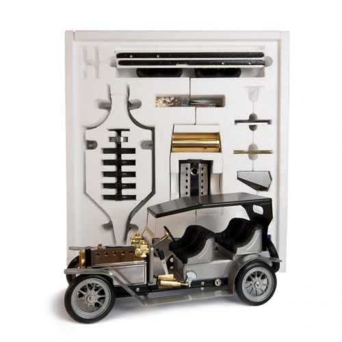 Mamod Live Steam Engines - Mamod Four Seater Limousine Kit Silver