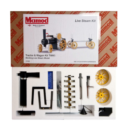 Mamod Live Steam Engines - Mamod Tractor and Wagon Kit