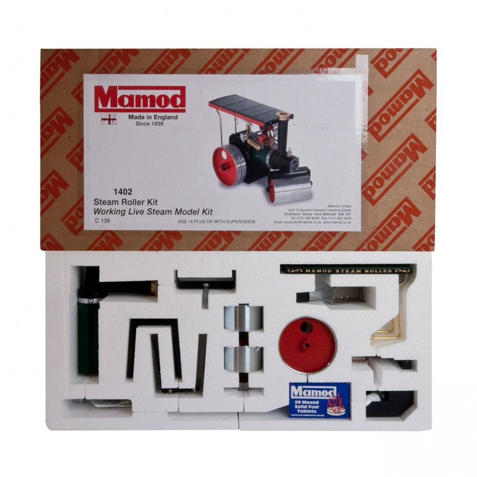 Mamod Live Steam Engines - Mamod Steam Roller Kit