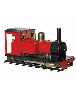 Product image of the powerful Mamod Stirling steam locomotive
